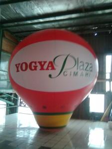 rental balon udara oval
