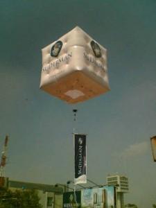 rental balon udara kubus